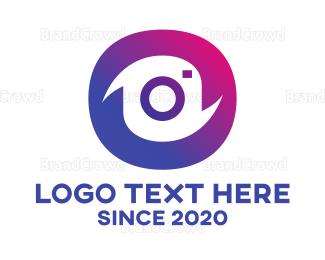 Photo - Instagram Gradient Camera  logo design