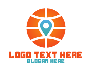 Play Off - Basketball Location logo design