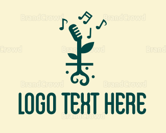 Music - Music Sprout logo design