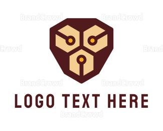 Monkey - Circuit Monkey logo design