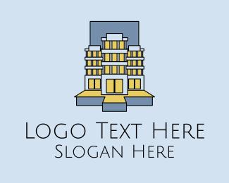 Apartment - Apartment Real Estate logo design
