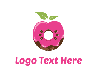 Chocolate - Donut & Coffee logo design