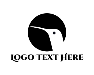 Hummingbird - Hummingbird Silhouette logo design