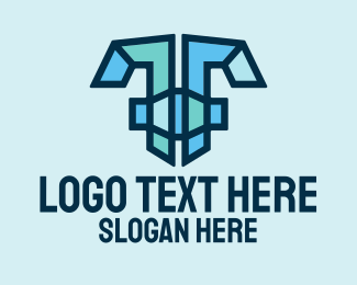"""""""Modern Mosaic Letter T """" by SimplePixelSL"""