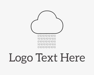 Ai - Code Rain logo design