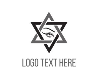 Astrology - Star Eye logo design