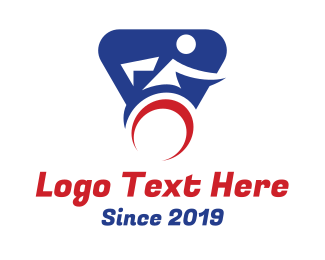 Patient - Wheelchair Sports logo design