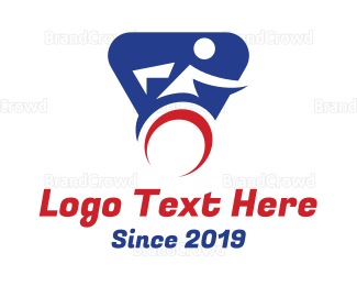 Disability - Disabled Sports logo design