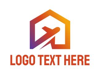Tourist - Jet Home logo design