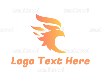 Aviary - Fire Bird logo design