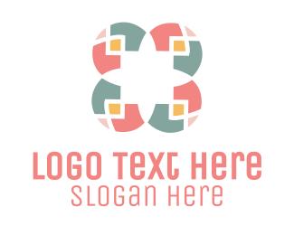 Mosaic - Mosaic Flower logo design