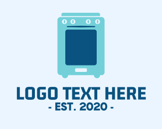 Home Appliance - Mobile Oven Application logo design