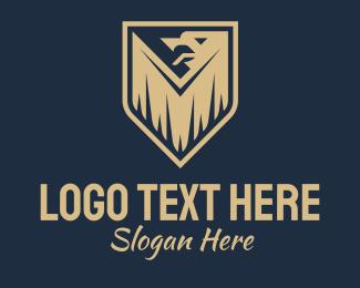 Military - Griffin Fantasy Emblem logo design
