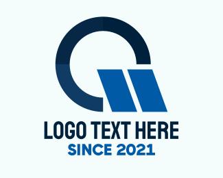 Autoparts - Blue Racing Letter G logo design