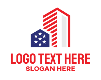 Urban - USA Urban City logo design