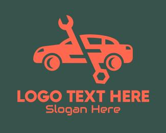 Car Mechanic Repair Shop logo design