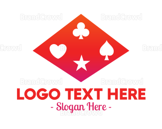 Fortune - Diamond Gambler logo design