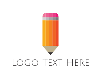 School - Sharp Pencil logo design