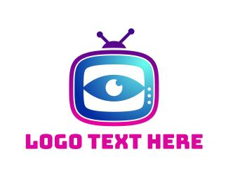 Streaming - Television App logo design