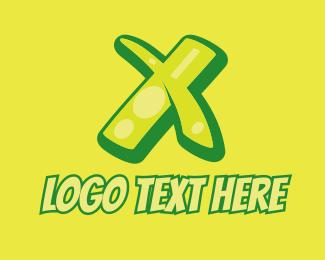 Gloss - Graphic Gloss Letter X logo design