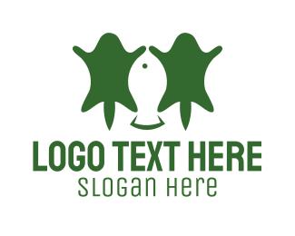 Hunter - Fishing & Hunting logo design