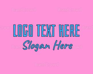 Fest - Funky Text logo design