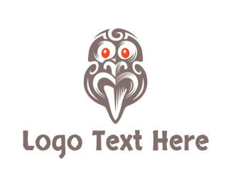 Culture - Ancient Tribal Mask logo design