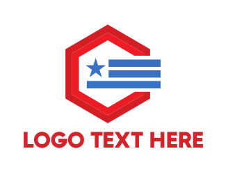 Politics - Political Hexagon logo design