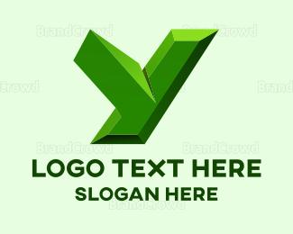 Emerald - Emerald Letter Y logo design