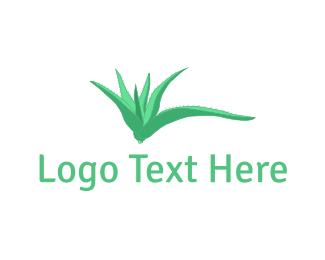 Cactus - Aloe Vera logo design