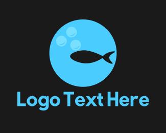 Fish And Chips - Fish Circle logo design