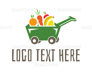 Banana - Fruit Wagon logo design