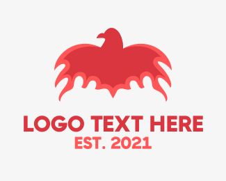 Flaming - Flaming Bird logo design