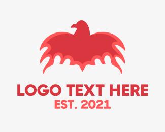 Flaming - Flaming Bird logo design
