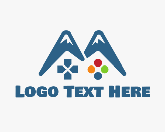 Games - Gaming Mountain logo design