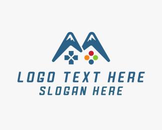 Game Developer - Gaming Mountain logo design