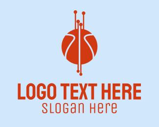 Basketball Technology  Logo