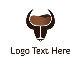 Drink - Brown Bull Drink logo design