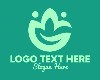 Sappling - Green Eco Plant logo design