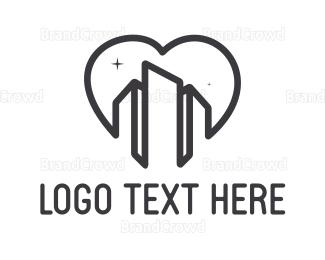 Building - Building Heart logo design