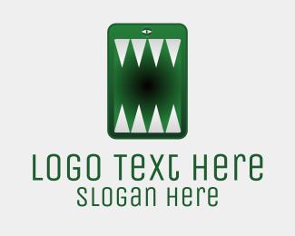 Logo Design - iPhone Monster