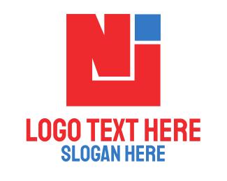 Thick -  Bold Box NJ logo design