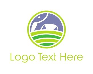Safari - Elephant Hill logo design