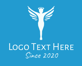 Halo - Holy Angel logo design