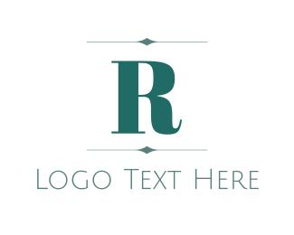 Established - Elegant Letter R logo design