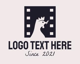 Movie Production - Chicken Film Studio logo design