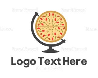 Globe - Globe Pizza logo design