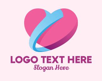 Thumb - Heart Thumbs Up logo design