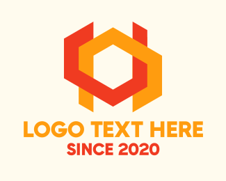 Shape - Abstract Geometric Shapes logo design
