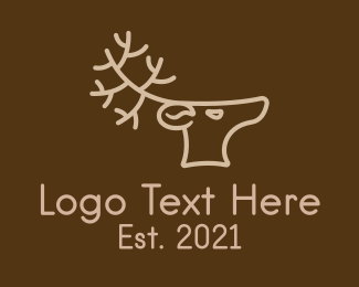 Coffee Shop - Reindeer Coffee Shop logo design